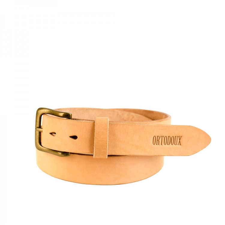 Veg Tan Leather Belt