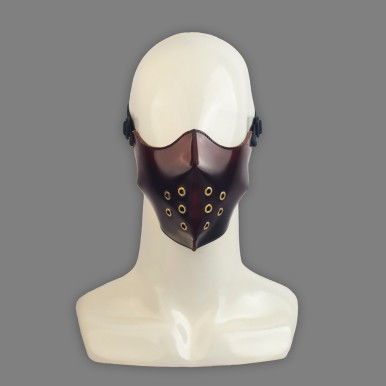 Lecter Mask - Oxblood