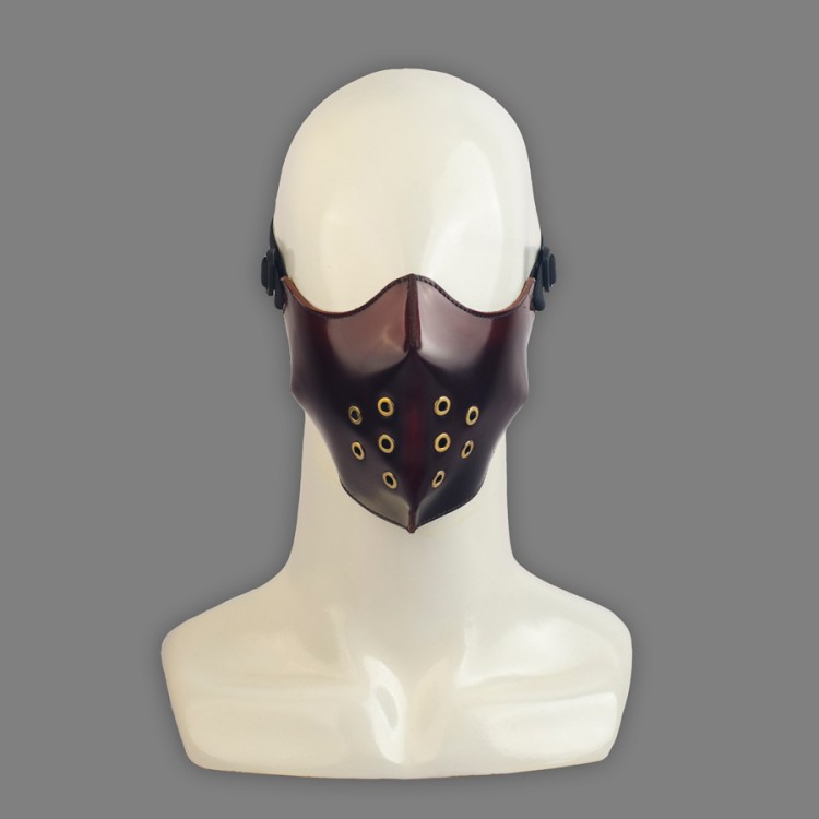 Lecter Mask - Oxblood