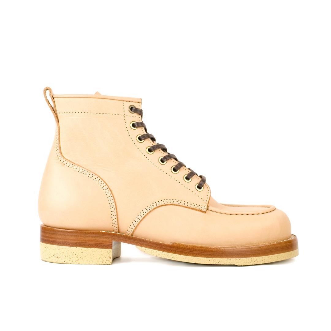 Nō7 - Leather Moc Toe Boots
